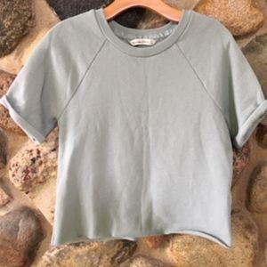 Abercrombie & Fitch Fleece Sweatshirt Tee
